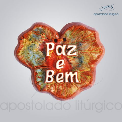 Quadro de Ceramica Paz e Bem 8×8 cm-2234