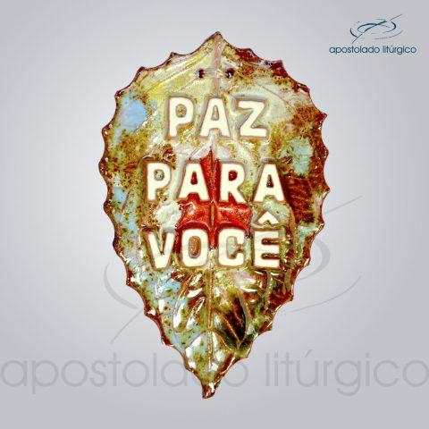 Quadro de Ceramica Paz para voce-2103