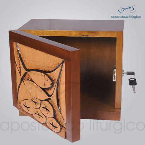 Sacrario Peixe Pao 25x30x20cm Frente Aberto – COD 2091
