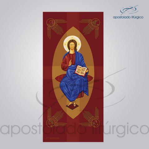 Banner Cristo Pantocrato 300×140 cm