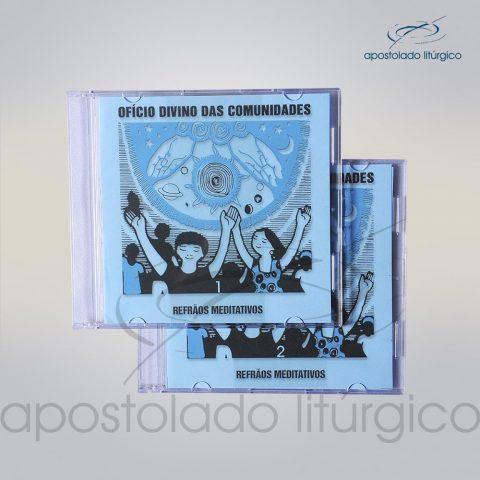 CD Ofício Divino das Comunidades (Refroes Meditativos 1 a 2) – COD 5522