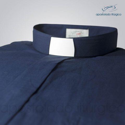 Camisa Algodão Azul Marinho Gola – COD 1441