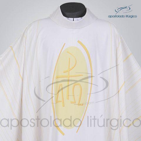 Casula Christos Branca Frente Gola – COD 38975