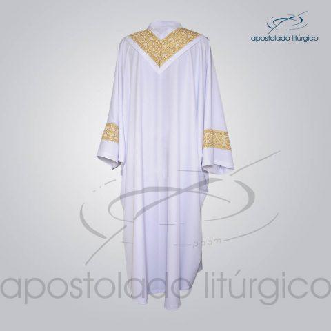 Conjunto Casula Alva Galao [Largo N 10 Dourado] Costas – COD 01865-0000