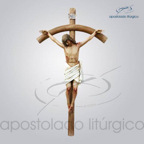 Imagem Cristo Crucificado 190cm (Cruz 330cm) – COD 4224