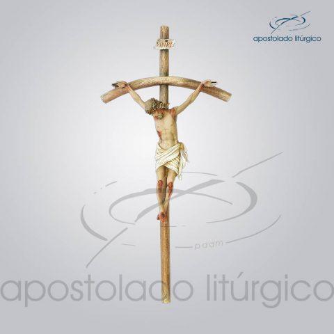 Imagem Cristo Crucificado 40cm (Cruz 79 cm)