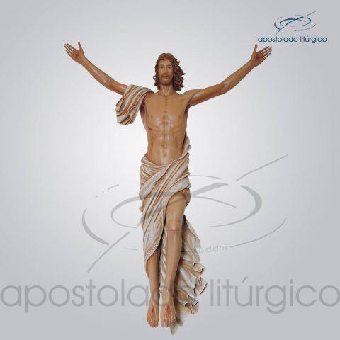 Imagem Cristo Ressuscitado Fibra 150x128cm