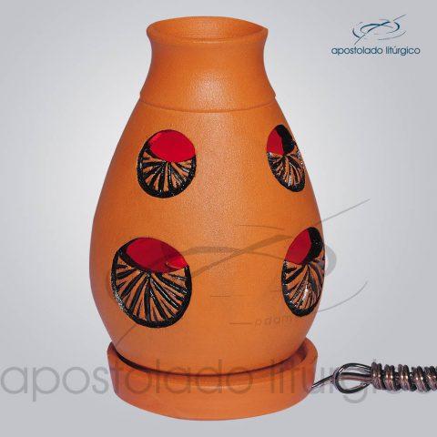 Indicador de Ceramica Lampiao Olho Betume Mesa 13cm – COD 2220