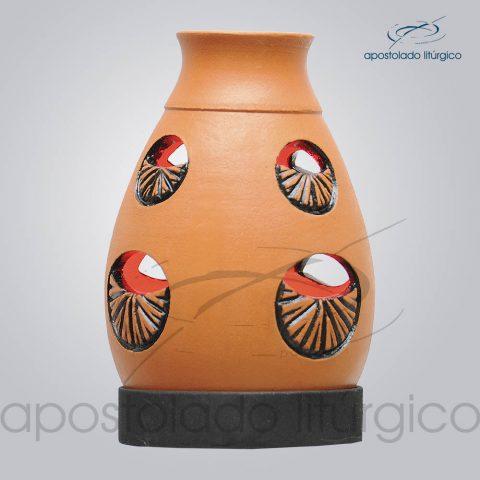 Indicador de Ceramica Lampiao Olho Betume Parede 13cm – COD 2218 (1)