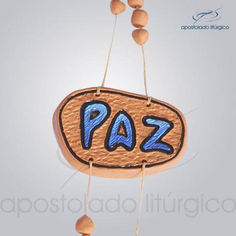 Quadro de Ceramica Paz Pomba Axe M2 60 cm-2058-CER-Paz