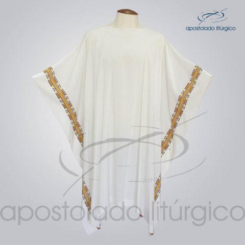 Veste com 2 Estampas Grega Bege – COD 3859