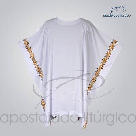 Veste com 2 Estampas Grega Branca Frente – COD 3861