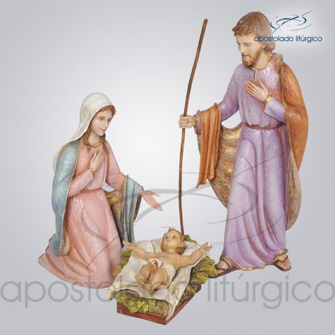 Imagem Sagrada Família do Natal 35 cm COD 4221