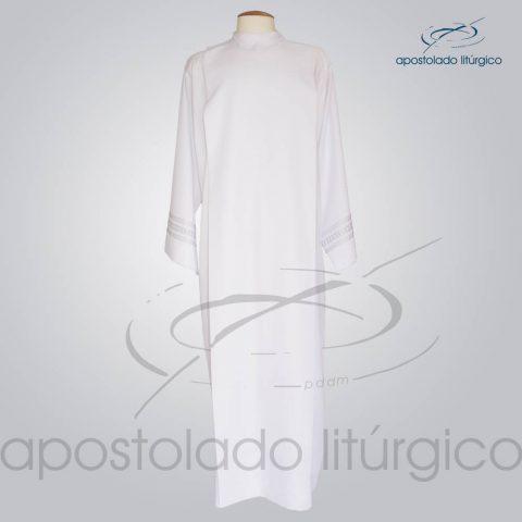 Tunica Pregao Tecido Inteligente [Bordado 1 Cinza] Manga Frente – COD 03260-0000